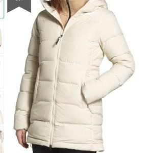 NEW The North Face Gotham Parka Down Puffer Coat Vintage White